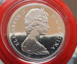 Канада 1 доллар 1965 г. Серебро. Каноэ, фото №3