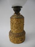 Старинная Керосиновая лампа Kosmos Brenner в стиле Барроко Рококо ( Франция ), фото №3