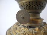 Старинная Керосиновая лампа Kosmos Brenner в стиле Барроко Рококо ( Франция ), фото №4