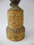 Старинная Керосиновая лампа Kosmos Brenner в стиле Барроко Рококо ( Франция ), фото №5