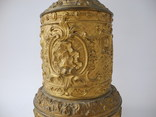 Старинная Керосиновая лампа Kosmos Brenner в стиле Барроко Рококо ( Франция ), фото №6