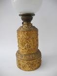 Старинная Керосиновая лампа Kosmos Brenner в стиле Барроко Рококо ( Франция ), фото №8