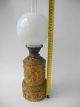Старинная Керосиновая лампа Kosmos Brenner в стиле Барроко Рококо ( Франция ), фото №9
