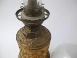 Старинная Керосиновая лампа Kosmos Brenner в стиле Барроко Рококо ( Франция ), фото №11