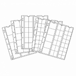 Набор листов к альбому Leuchtturm, NUMIS 5 шт. 338347