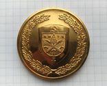 Сувенирная медаль с гербом Киева. Город - Герой., фото №2