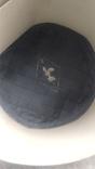 Новая норковая серо-голубая шапка в родной коробке с бирками, фото №6