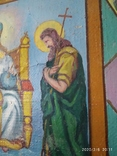 Красивая икона на холсте, фото №5