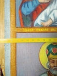 Красивая икона на холсте, фото №12