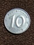 10 пфеннигов 1952 года, фото №2