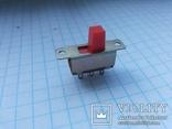 Переключатель движковый SunRise 6 pin 13 шт, фото №5
