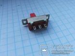 Переключатель движковый SunRise 6 pin 13 шт, фото №6