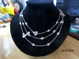 Ожерелье серебро ручная работа, фото №2