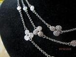 Ожерелье серебро ручная работа, фото №4