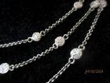 Ожерелье серебро ручная работа, фото №5