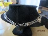 Ожерелье серебро ручная работа, фото №7