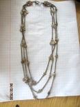 Ожерелье серебро ручная работа, фото №9