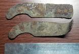 Латунные накладки казацкой бритвы, фото №3