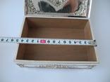Шкатулка для украшений ( Серебро 800 пр , 560 гр. ) Европа, фото №9