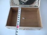 Шкатулка для украшений ( Серебро 800 пр , 560 гр. ) Европа, фото №10