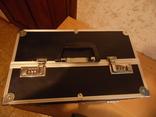 Кейс для візажиста вис 25 см дл 36  шир 22, фото №3