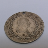 Монета 20 крейцеров 1809,Австрия, фото №4