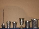 Лот серебро 84 проба, фото №2