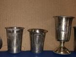 Лот серебро 84 проба, фото №4
