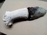 Великий масивний кремяний ніж., фото №6