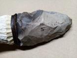 Великий масивний кремяний ніж., фото №8