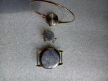Часы заря Ау12.5 чайка Ау technos 10, фото №6