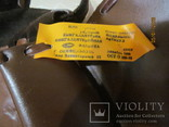 Винтажная кожаная сумка ., фото №5