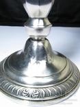 Парные серебряные подсвечники США Конец ХIХ века Серебро 925 пробы, фото №11