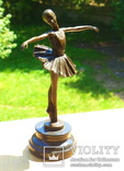 Статуэтка скульптура бронза балерина - 29 см ⚜️, фото №4