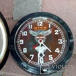 Часы на ходу Харлей, фото №2