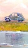 Волны.Вечер.. Художник Ellen ORRO. холст на картоне/акрил. 40х40, 2019 г., фото №4