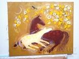 Картина Материнство.Весна.. Художник Ellen ORRO. холст/акрил. 55х45, 2009 г., фото №6