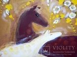 Картина Материнство.Весна.. Художник Ellen ORRO. холст/акрил. 55х45, 2009 г., фото №9