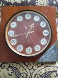 Настінний годинник Янтарь 1978 р., фото №2