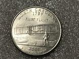 25 центов сша 2001 Р, фото №2