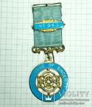 Награда масонов. Серебро. 1963 г., фото №3