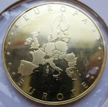 """Люксембург, 10 серебряных евро """"Прощание с франком"""" 2002 г., фото №3"""