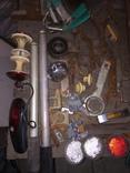 Уборка в гараже. Инструмент, лампа, домкрат....., фото №3