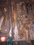 Уборка в гараже. Инструмент, лампа, домкрат....., фото №4