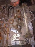 Уборка в гараже. Инструмент, лампа, домкрат....., фото №5