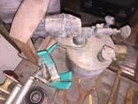 Уборка в гараже. Инструмент, лампа, домкрат....., фото №6