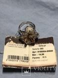 Золотое кольцо с бриллиантами, фото №7