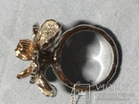 Золотое кольцо с бриллиантами, фото №9