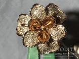 Золотое кольцо с бриллиантами, фото №11