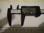 Стекло к часам 28.6 мм.толстое 2.2 мм., фото №2